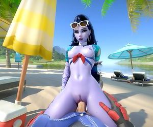 Overwatch WidowMaker Côte dAzur Animation