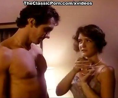 Hillary Summers, Eric Edwards in young cutie enjoys quick sex in an 80s porn mo