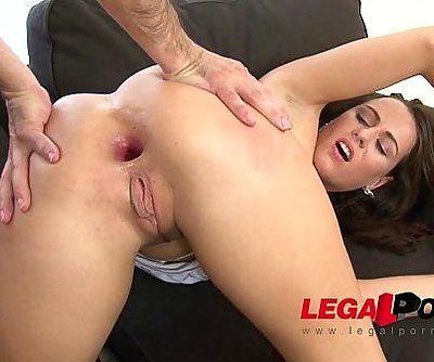 Mea Melone anal fucking & gapes gg521 HD