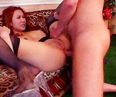 Red Head Asian Arseplay