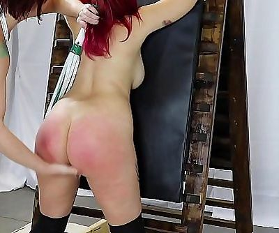 Little Red Fingered N Flogged 3 min HD+
