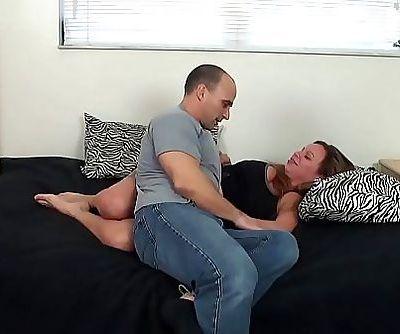 Step daughter creampied twice 21 min HD