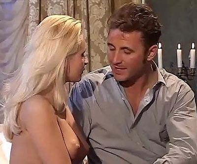 Amazing blonde anal banged by a huge cock