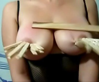 Xania LombarMy husband punishes my tits 10 sec