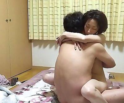 M Miyuki M wielding a straddle across the host 16 min HD
