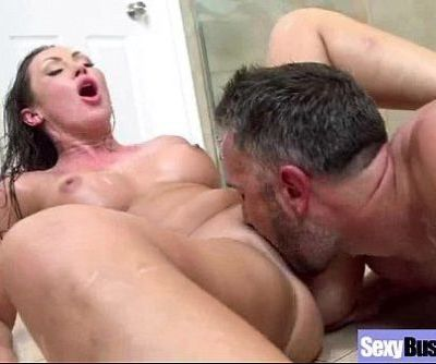 Busty Milf Get Hardcore Sex On Camera vid-30
