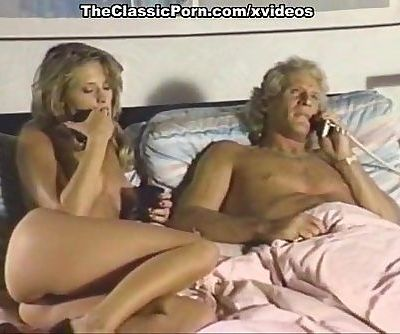 Dominique Simone, Derrick Lane, Joey Silvera in classic sex movie
