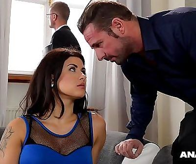 Anal inspectors wanna see curvy Billie Star ass fucked by hubby & realtor 20 min HD+