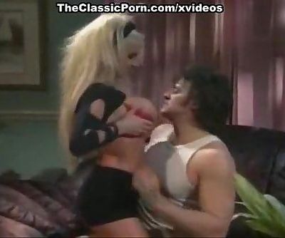 Jerry Butler, Taylor Wane in slutty chick sucks cock in classic xxx movie
