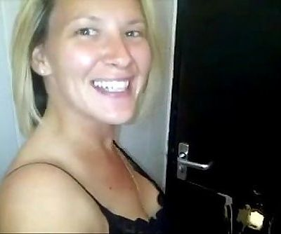 British Slut Films Herself Fucking Strangers At Gloryhole
