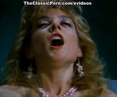 Amber Lynn, Nina Hartley, Buck Adams in classic fuck scene