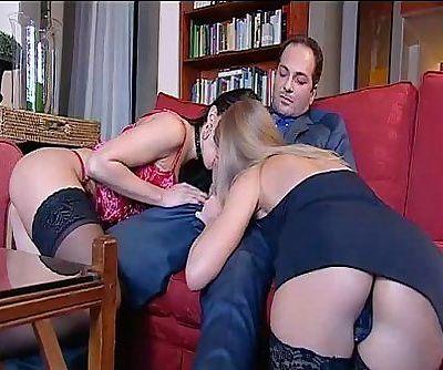 Two sexy sluts for Franco Trentalance