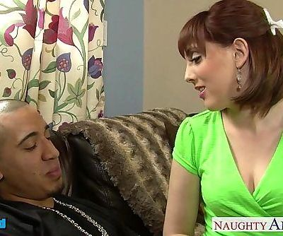 Young brunette Cassidy Klein take a large dickHD