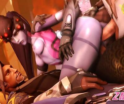 Overwatch - Widowmaker Complilation
