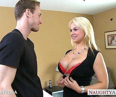 Busty blonde Sarah Vandella fuckingHD