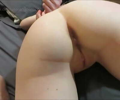 Painal :.. Amateur gets it in every hole before nasty creampie - Selena22