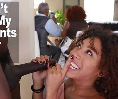 DONT FUCK MY DAUGHTER - Black Teen Kendall Woods Fucks Her Fathers Friend