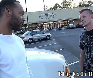 German Boy Legacy Gets His First Black CockHD
