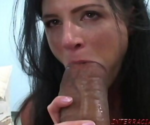 India Summer gets excited for big black cock 15 min 1080p