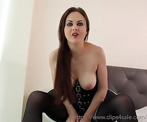 Small Penis Humiliation and Jerk Off Instruction with Tina Kay 12 min HD+