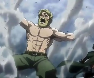 Old hairy receives brutal fucked (Without condom)Attack on Titan 3 min 720p
