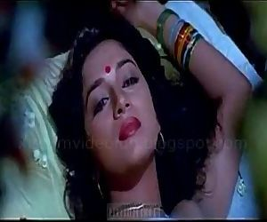 Madhuri dixit hot kissing and love making scene - 2 min