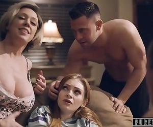 PURE TABOO Step-Parents & Step-Bro Welcome New Sister to Perv Family 15 min 1080p