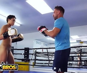 BANGBROSJohnny Castle Turns Up The Heat On Amethyst Banks For Boxing 12 min 1080p