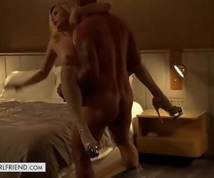 Tonights Girlfriend Carolina Sweets fucks while camera rolls 12 min 720p