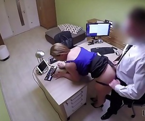 Loan4K. Bad agent fucks good student girl and approves her documents 9 min 720p