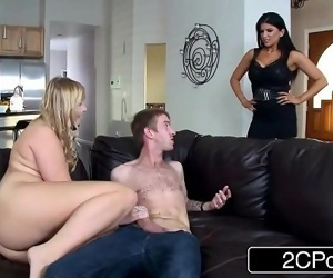 Sex Crazed Couple Seduces Innocent College StudentMelissa May, Romi RainHD