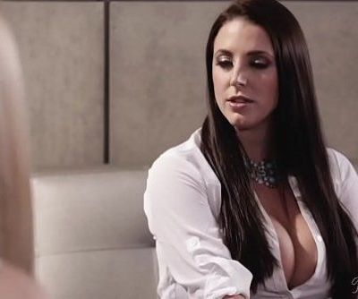 Small town girl Lily Rader in the big city with Angela WhiteHD