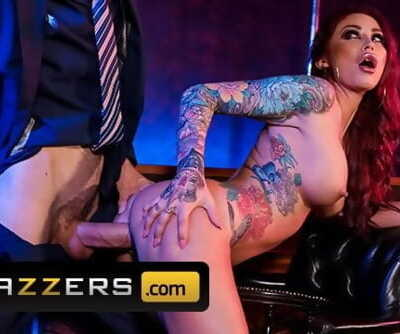 Brazzers - Big tit inked stipper Monique Alexander takes big dick