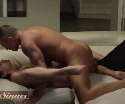 Sweet Sinner - Brunette stepdaughter Gia Paige loves daddy