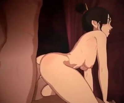 Azula satisfying herself - full animation by SkuddButt