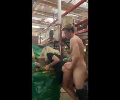 HORNY MILF FUCKED AT THE SUPERMARKET