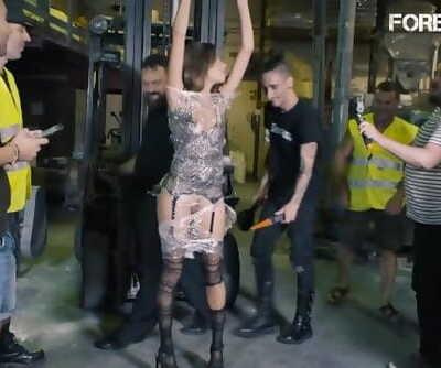 CrowdBondage - Venezuelan PAWG Baby Nichols Humiliated at Kinky BDSM Party