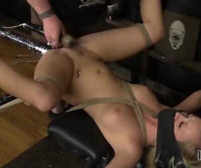 Bailey Brooke - BDSM Split Legs - Bodacious Bailey Bratty in Bondage 4