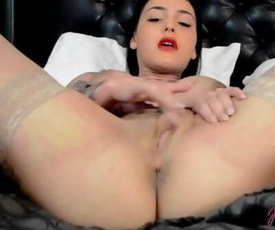 Roselyne Simone Busty Pornstars Solo - Full Scene