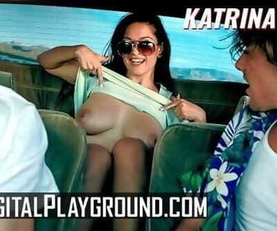 Digital Playground - Inked Goth Katrina Jade Fucks Big Cock in Horor Movie Parody