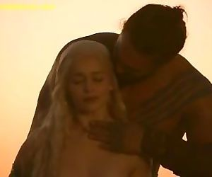 Emilia Clarke Nude Boobs And..