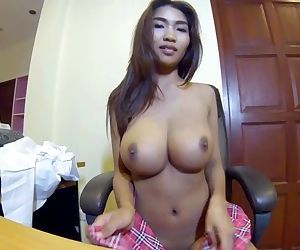 My Asian boobs are..