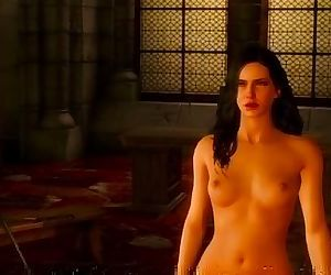 The Witcher 3 sex with Yennefer #2