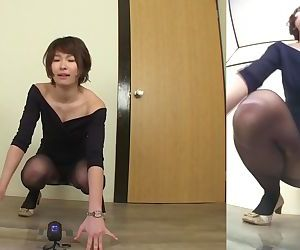 Japanese woman fails to hold in..