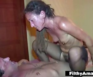 Anal lover eat the pussy hairy!..