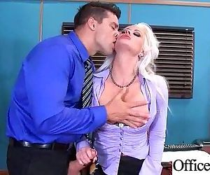 Hardcore Sex Tape In Office With..