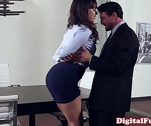 Office milf pounded on top of..