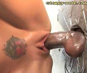 Cock Sucking Glorey Hole - 3 min