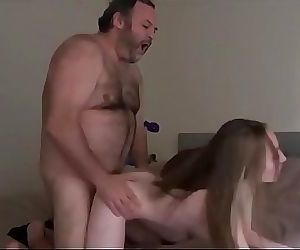 Horny Stepdad Decides To Fuck His..