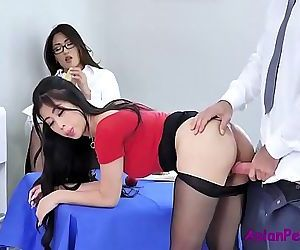 Asian Office Sluts- Jade Kush &..